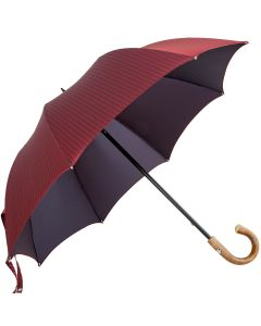 Oertel Handmade - Sport - Tweed stripes - red | European Umbrellas