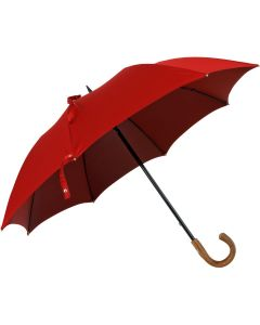 Oertel Handmade - Sport uni - golf umbrella - red | European Umbrellas