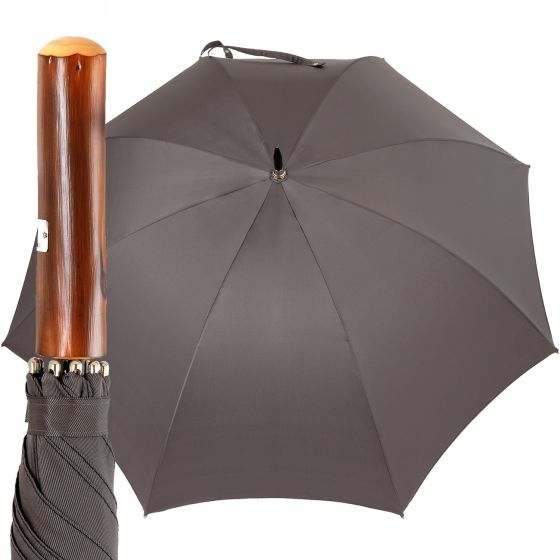 Oertel Handmade - Sport uni - golf umbrella - grey | European Umbrellas