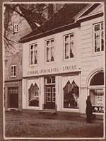 Schirm Oertel around 1900